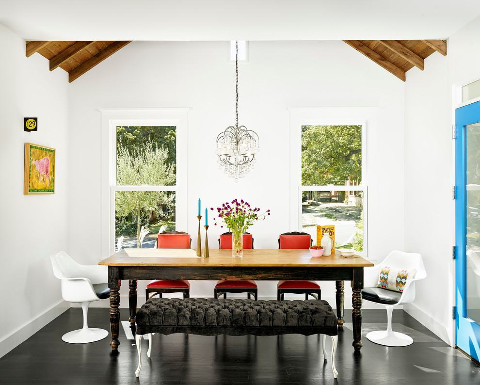 990x794px Lovely  Contemporary Dining Room Table With Bench And Chairs Ideas Picture in Dining Room