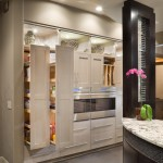 Awesome  Contemporary Kitchen Rolling Shelves Image Ideas , Stunning  Contemporary Kitchen Rolling Shelves Picture In Spaces Category