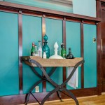 Awesome  Craftsman Iron Bar Cart Image Inspiration , Beautiful  Eclectic Iron Bar Cart Photo Inspirations In Dining Room Category