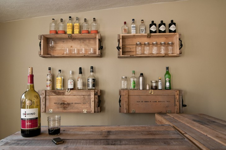 Family Room , Fabulous  Eclectic Rustic Bar Cart Picture Ideas : Awesome  Eclectic Rustic Bar Cart Picture Ideas