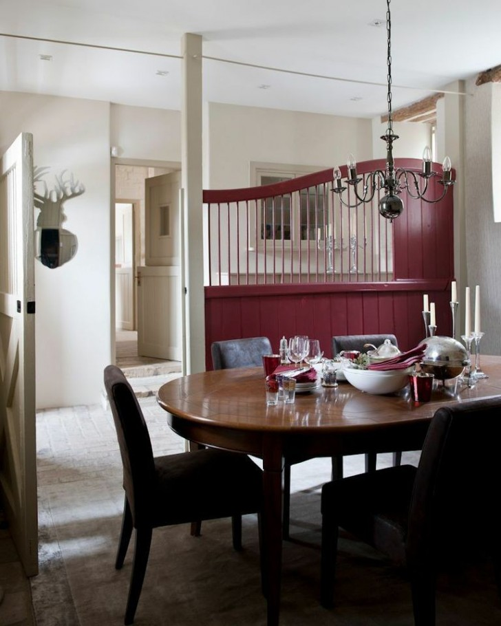 Dining Room , Charming  Farmhouse Kitchen And Dining Tables Image : Awesome  Farmhouse Kitchen and Dining Tables Image