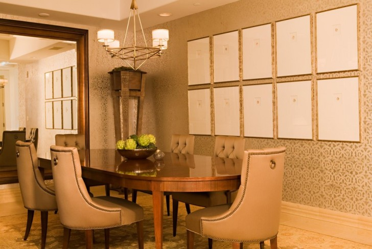 Dining Room , Cool  Traditional Nice Dining Room Sets Image Inspiration : Awesome  Traditional Nice Dining Room Sets Ideas