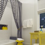 Beautiful  Beach Style Pictures of Bathrooms with Shower Curtains Image Inspiration , Lovely  Beach Style Pictures Of Bathrooms With Shower Curtains Picture Ideas In Bathroom Category
