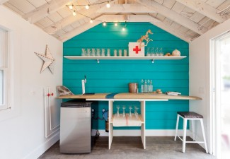 990x660px Gorgeous  Beach Style Retro Bar Cart Image Ideas Picture in Garage And Shed