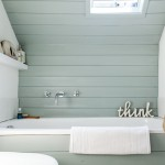 Beautiful  Beach Style Soaking Tub in Small Bathroom Photos , Gorgeous  Modern Soaking Tub In Small Bathroom Picture Ideas In Bathroom Category