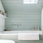 Beautiful  Beach Style Soaking Tub in Small Bathroom Photos , Gorgeous  Modern Soaking Tub In Small Bathroom Picture Ideas In Bathroom Category