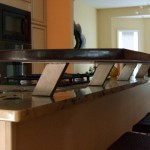 Beautiful  Contemporary Countertop Standoffs Inspiration , Lovely  Contemporary Countertop Standoffs Picture In Spaces Category