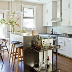 Beautiful  Contemporary Kitchen Bar Cart Photo Ideas , Gorgeous  Contemporary Kitchen Bar Cart Ideas In Dining Room Category
