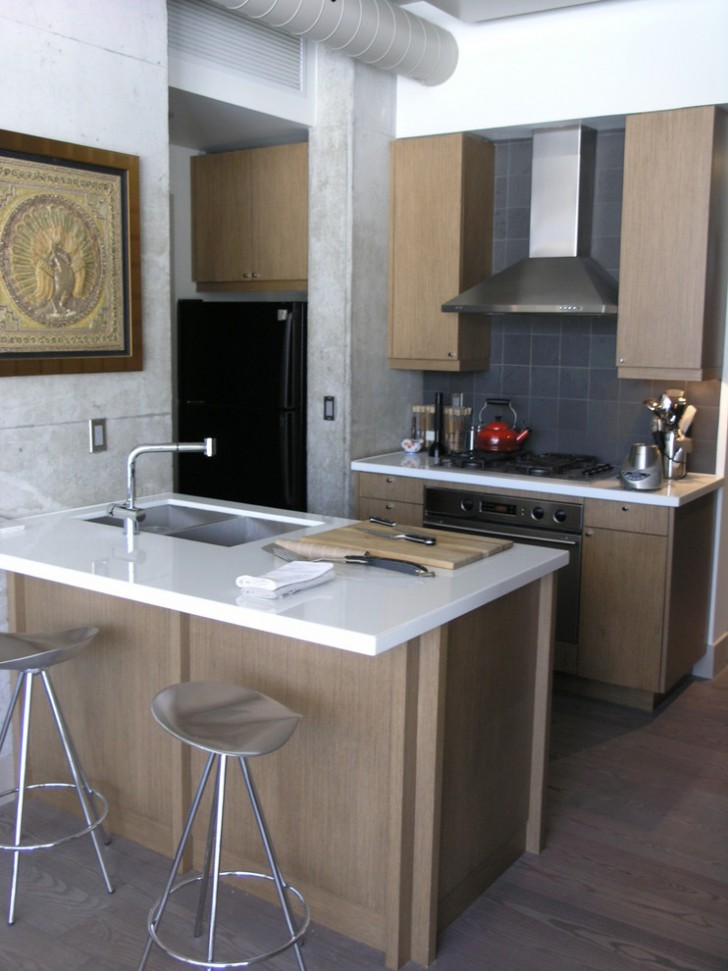 Kitchen , Awesome  Contemporary Kitchen Island For Small Kitchen Image Inspiration : Beautiful  Contemporary Kitchen Island for Small Kitchen Image Ideas