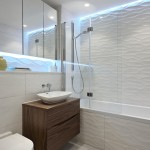 Beautiful  Contemporary Pictures of Bathrooms with Shower Curtains Picute , Lovely  Beach Style Pictures Of Bathrooms With Shower Curtains Picture Ideas In Bathroom Category