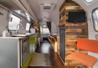 990x660px Awesome  Contemporary Small Camper Trailers With Bathroom Picture Ideas Picture in Kitchen