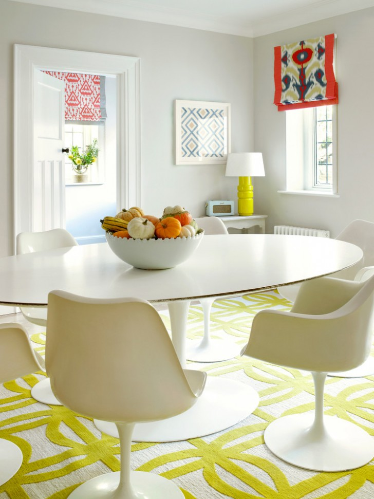 Dining Room , Charming  Contemporary Small White Dining Table And Chairs Image Ideas : Beautiful  Contemporary Small White Dining Table and Chairs Inspiration