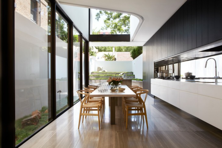 Dining Room , Lovely  Contemporary White Kitchen Dining Sets Image : Beautiful  Contemporary White Kitchen Dining Sets Photo Ideas