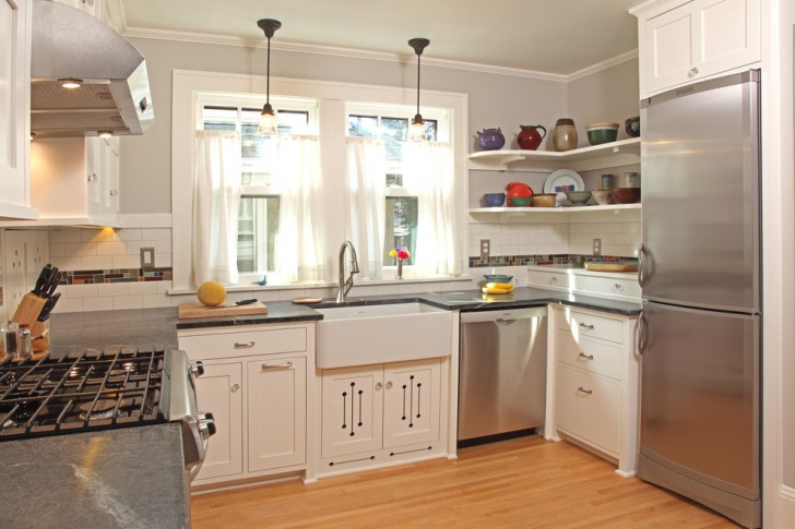 Kitchen , Fabulous  Craftsman Custom Cabinets Doors Photos : Beautiful  Craftsman Custom Cabinets Doors Photo Ideas