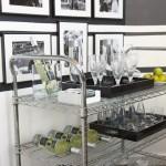 Beautiful  Eclectic Italian Bar Cart Photos , Fabulous  Contemporary Italian Bar Cart Image Ideas In Dining Room Category