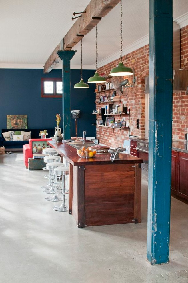 Kitchen , Lovely  Eclectic Kitchens Kitchens Ideas : Beautiful  Eclectic Kitchens Kitchens Image