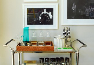 656x990px Breathtaking  Eclectic Nickel Bar Cart Photo Ideas Picture in Spaces