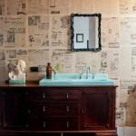 Beautiful  Eclectic Small Double Vanity Bathroom Sinks Photos , Charming  Contemporary Small Double Vanity Bathroom Sinks Picute In Bathroom Category