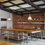 Beautiful  Industrial Wood Kitchen Shelves Image , Cool  Industrial Wood Kitchen Shelves Image Ideas In Kitchen Category