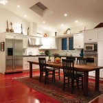 Beautiful  Mediterranean Kitchen Block Table Photo Inspirations , Cool  Contemporary Kitchen Block Table Image In Kitchen Category