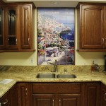 Beautiful  Mediterranean Tuscan Kitchen Backsplash  Picture Ideas , Charming  Traditional Tuscan Kitchen Backsplash  Image In Kitchen Category