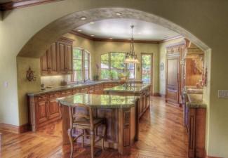 990x660px Stunning  Mediterranean Tuscan Kitchen Decorating  Inspiration Picture in Kitchen