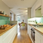 Beautiful  Midcentury Galley Kitchen Makeover  Picute , Fabulous  Contemporary Galley Kitchen Makeover  Ideas In Kitchen Category