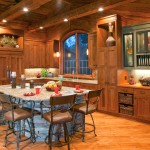 Beautiful  Rustic Kitchen Islands with Chairs Photo Ideas , Fabulous  Rustic Kitchen Islands With Chairs Picture Ideas In Kitchen Category