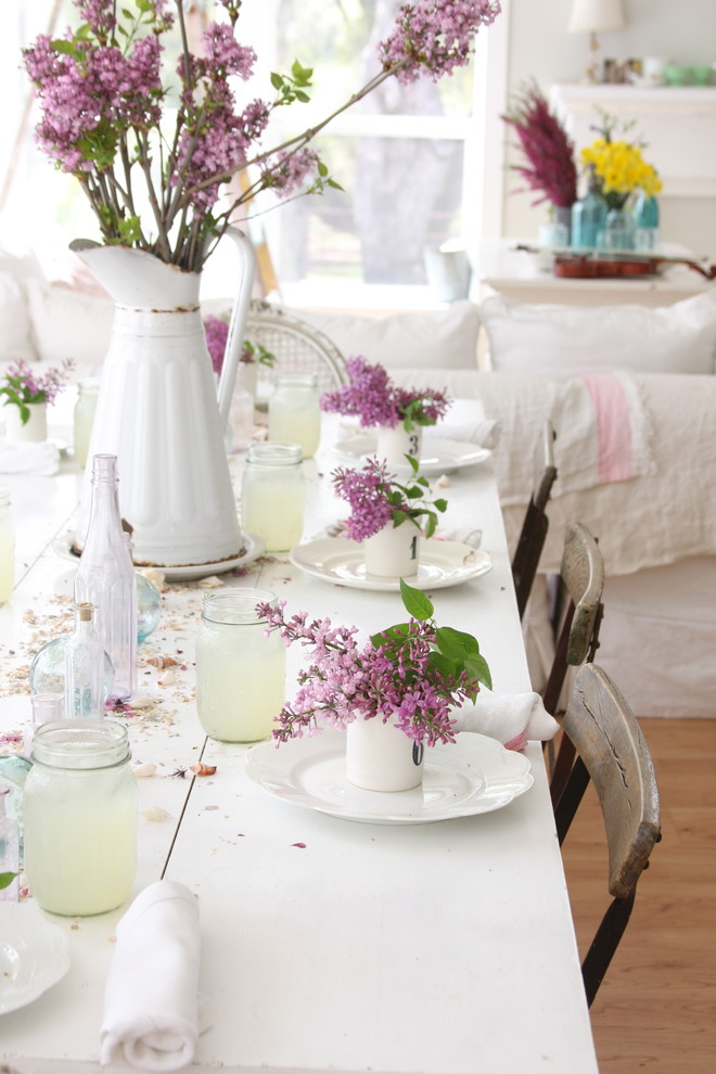Dining Room , Beautiful  Shabby Chic Dining Room Table Sets Ikea Ideas : Beautiful  Shabby Chic Dining Room Table Sets Ikea Photos