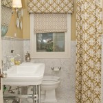 Beautiful  Traditional Curtains for a Bathroom Window Ideas , Beautiful  Eclectic Curtains For A Bathroom Window Picute In Bathroom Category
