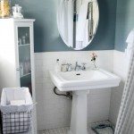Beautiful  Transitional Small Bathrooms with Pedestal Sinks Image Ideas , Fabulous  Traditional Small Bathrooms With Pedestal Sinks Picute In Bathroom Category
