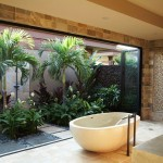 Beautiful  Tropical Bathroom Window Curtain Sets Picute , Lovely  Beach Style Bathroom Window Curtain Sets Picture Ideas In Bathroom Category
