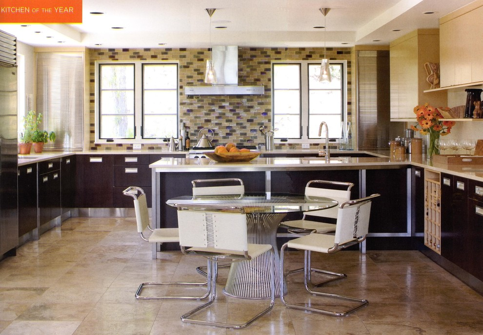 990x688px Lovely  Contemporary Breakfast Room Table And Chairs Inspiration Picture in Kitchen