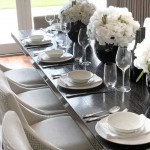 Breathtaking  Contemporary Dinner Set Table Photo Inspirations , Fabulous  Eclectic Dinner Set Table Picture In Dining Room Category