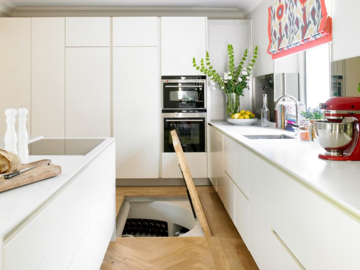 Kitchen , Cool  Contemporary Kitchen Cart Wine Rack Image Ideas : Breathtaking  Contemporary Kitchen Cart Wine Rack Photos