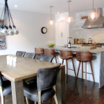 Breathtaking  Contemporary Kitchen Table Bar Ideas , Fabulous  Midcentury Kitchen Table Bar Inspiration In Dining Room Category