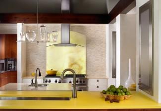 766x990px Fabulous  Contemporary Labrador Granite Laminate Countertop Photo Ideas Picture in Kitchen