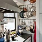 Breathtaking  Contemporary Under Cabinet Pot Rack Inspiration , Beautiful  Contemporary Under Cabinet Pot Rack Photo Inspirations In Kitchen Category