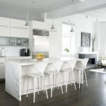 Breathtaking  Contemporary White Kitchen Sets Photo Ideas , Lovely  Contemporary White Kitchen Sets Picture In Kitchen Category