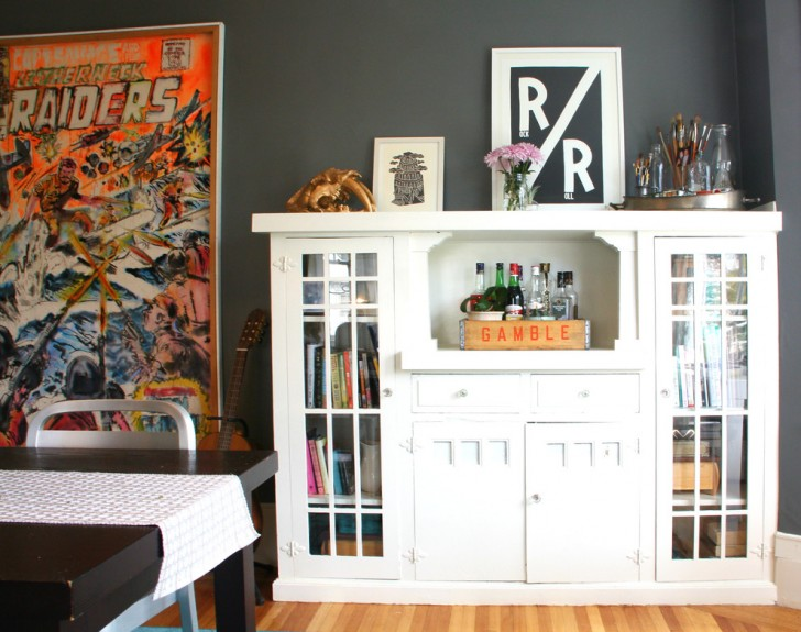 Dining Room , Lovely  Eclectic Faux Bamboo Bar Cart Image Ideas : Breathtaking  Eclectic Faux Bamboo Bar Cart Photos