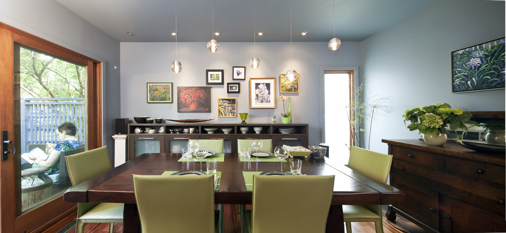 990x456px Cool  Eclectic Kithcens Photos Picture in Dining Room