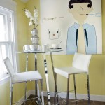 Breathtaking  Eclectic Tall Dining Table and Chairs Image Ideas , Charming  Shabby Chic Tall Dining Table And Chairs Image In Dining Room Category