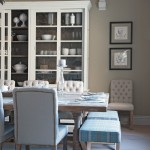 Breathtaking  Farmhouse Dining Room Stools Photo Ideas , Cool  Transitional Dining Room Stools Image In Living Room Category