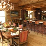 Breathtaking  Rustic Bar Stools and Table Picture , Gorgeous  Contemporary Bar Stools And Table Photo Ideas In Dining Room Category