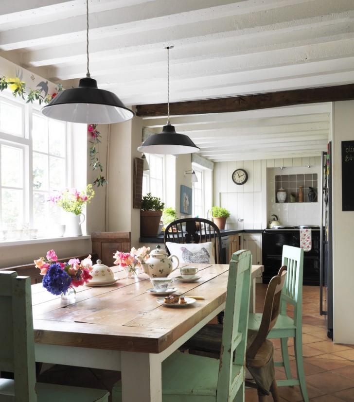 Kitchen , Lovely  Shabby Chic Pub Kitchen Table Sets Image Ideas : Breathtaking  Shabby Chic Pub Kitchen Table Sets Image Ideas