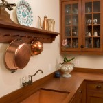 Breathtaking  Traditional Cabinet Pot Rack Picture , Breathtaking  Beach Style Cabinet Pot Rack Picture In Kitchen Category