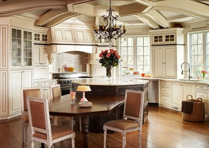 Kitchen , Charming  Traditional Kitchen Cupboards Design Image Ideas : Breathtaking  Traditional Kitchen Cupboards Design Image