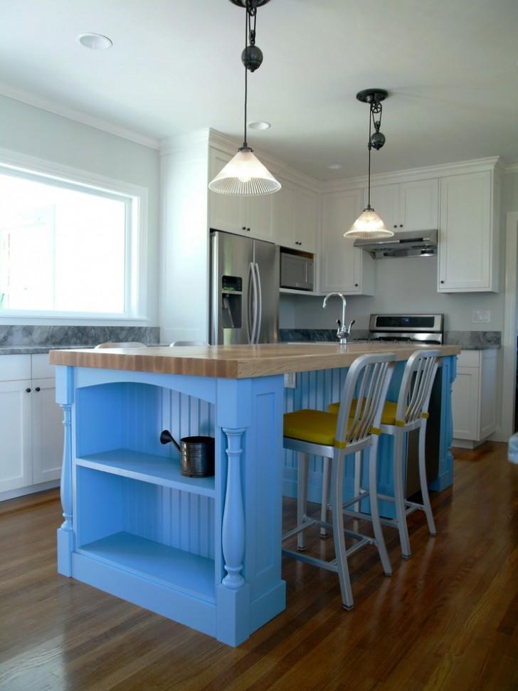Kitchen , Stunning  Traditional Kitchen Table Butcher Block Ideas : Breathtaking  Traditional Kitchen Table Butcher Block Picture Ideas