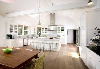 990x714px Cool  Traditional Kitchen With Vaulted Ceilings  Ideas Picture in Kitchen