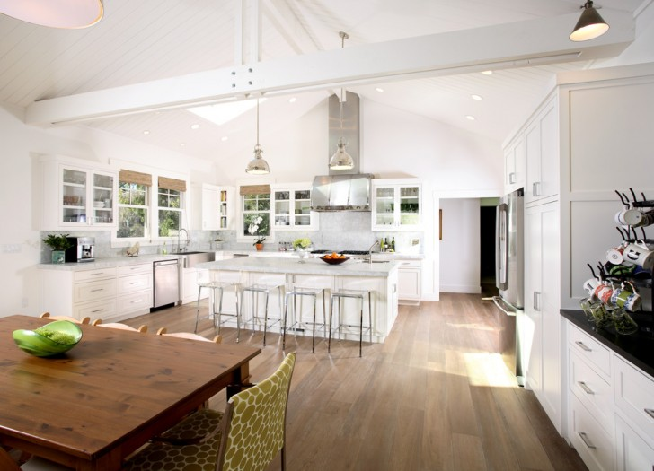 Kitchen , Cool  Traditional Kitchen With Vaulted Ceilings  Ideas : Breathtaking  Traditional Kitchen with Vaulted Ceilings  Inspiration